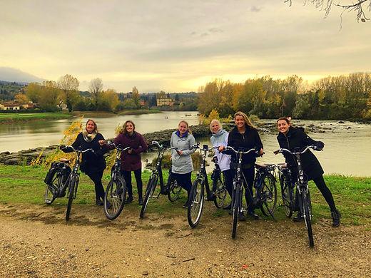 Florence Bike Rental Vineyard Tour