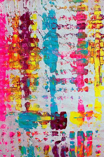 """Refracted Light"" Original Painting"
