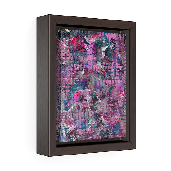 """Gridlocked, zoomed "" Gallery Canvas Print Framed"