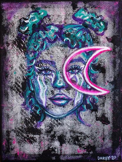 """Luna"" Original Painting"