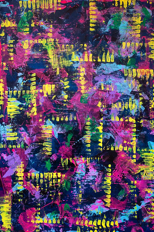 """Summer Trips"" Original Painting"