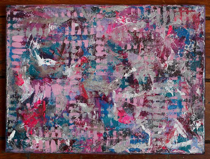 """Gridlocked"" Original Painting"