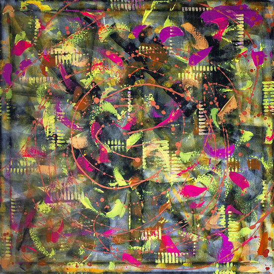 """""""Pop"""" Original Abstract Painting"""