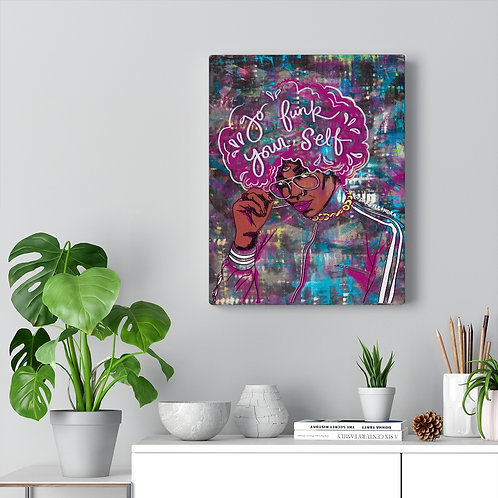 """Go Funk Yourself"" Canvas Art Print"