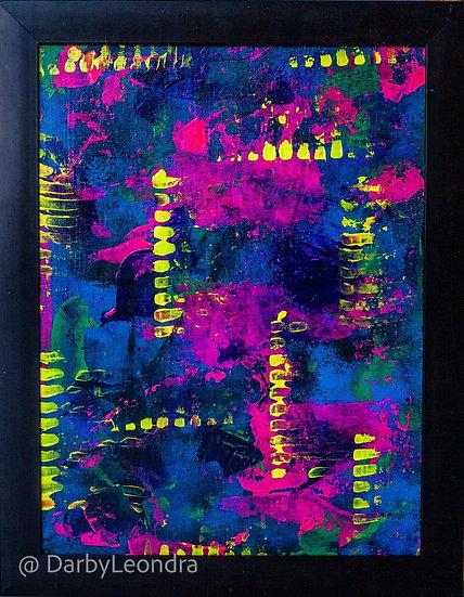 """Barbie's Revenge"" Acrylic Painting"