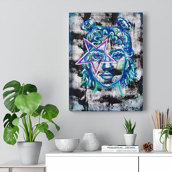 """""""Estrella"""" Canvas Print"""