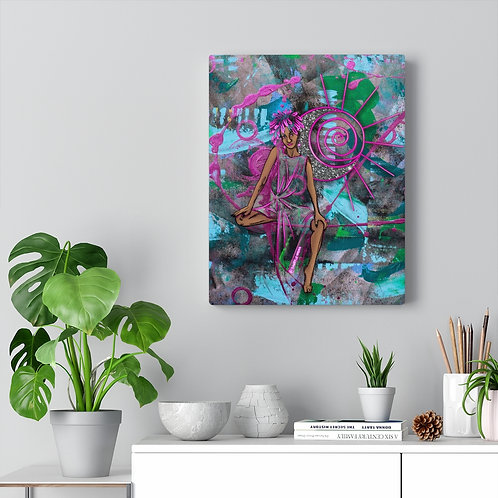 """Moon Child"" Canvas Print"
