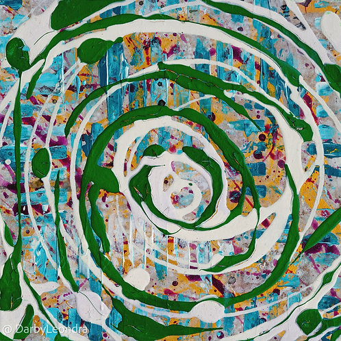 """Cycles of Nature"" Original Painting"