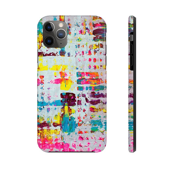 """""""Refracted Light"""" White Extra Tough Phone Cases"""