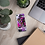 Thumbnail: Abstract Iphone Case Clear in Purples