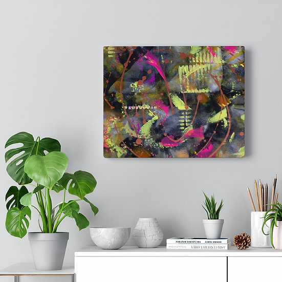 """Pop, Zoomed"" Canvas Gallery Print"