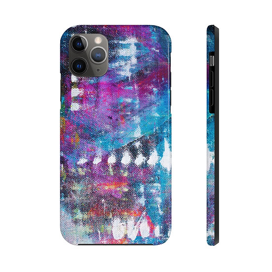 Blue Abstract Extra Tough Phone Case