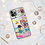 Thumbnail: White Rainbow Abstract Phone Case