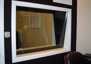 Port Window Glass for recording studios and movie theaters.