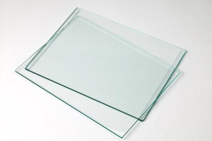What is plate glass?