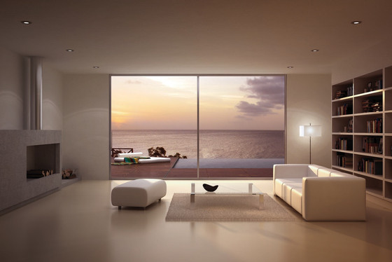 What makes acoustic windows a better option?