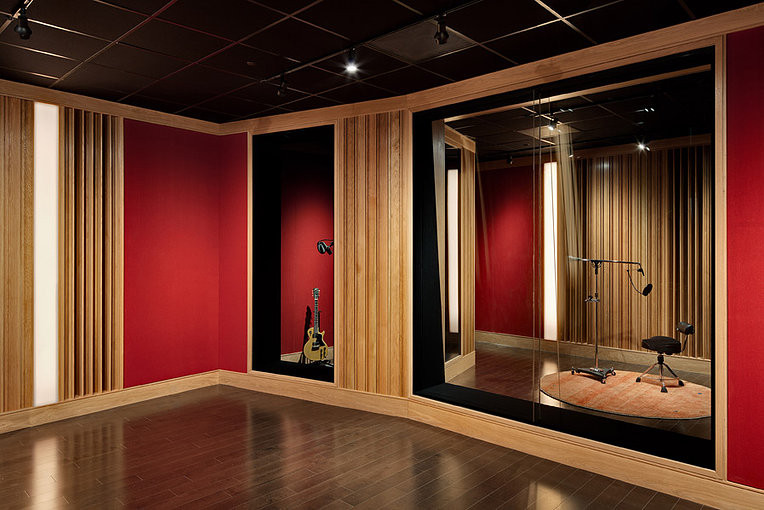 Recording Studio Glass