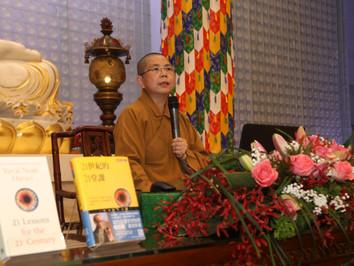 反思世界的危機 實踐人間佛教理念