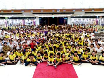 新加坡兒童少年佛學班結業典禮
