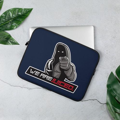 JUICED. Laptop Sleeve (Navy Blue)