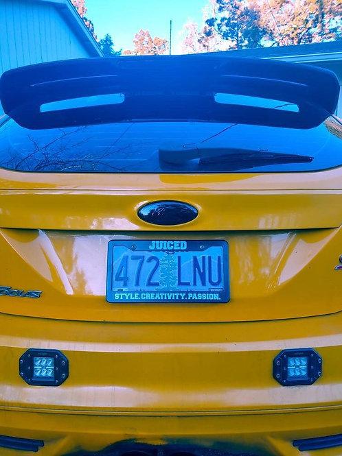 JUICED License Plate Frame