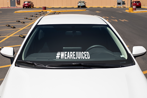 """#WEAREJUICED Decal (6""""and 14"""" options)"""