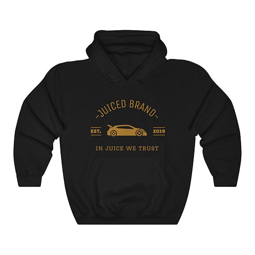 """IN JUICE WE TRUST"" Heavy Blend™ Hooded Sweatshirt"