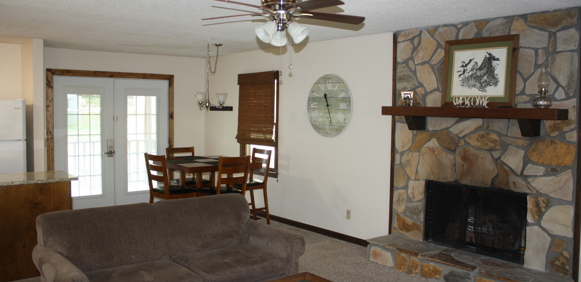 1C Dining & Living Room