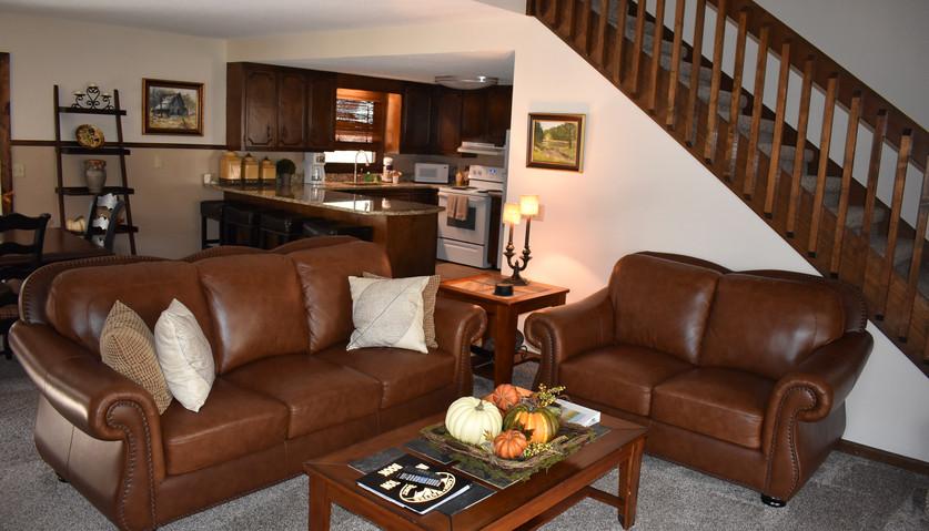 3 BR - Lodge - Living Room & Kitchen