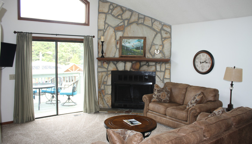 Rec Center Villa Living Room