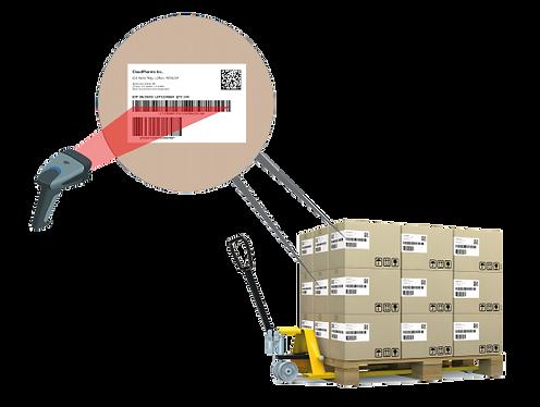 Logistiketikettierung
