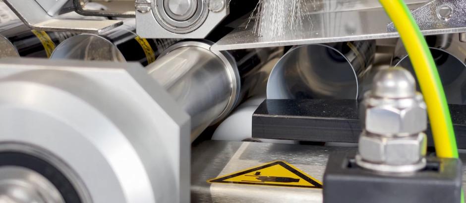 Vollautomatische Etikettiermaschine für Tuben