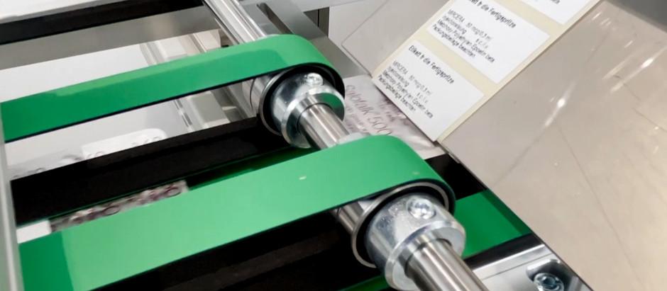 Etikettiermaschine für Blister – Modellreihe HSF