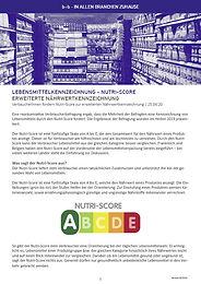 Umsetzung des Nutri-Scores