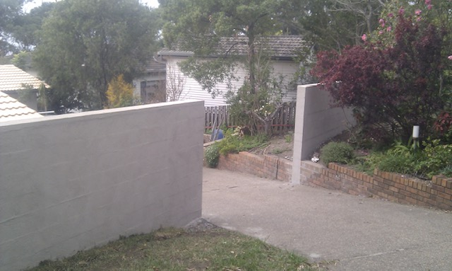 Rendered Fencing Mollymook