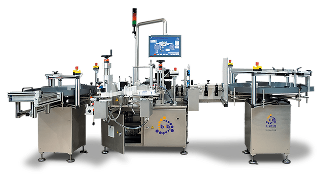 Fully automatic labeller for wrap-around labelling