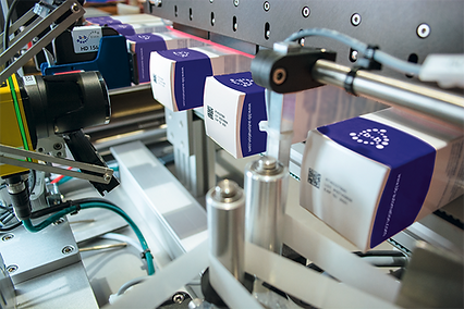 Seal labelling with serialisation function