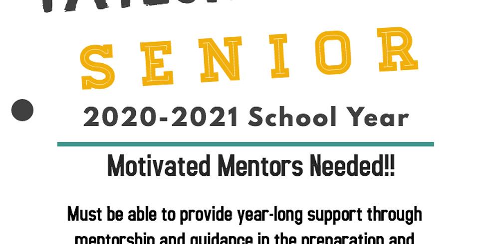 Adopt-A-TC Senior: Mentor Registration