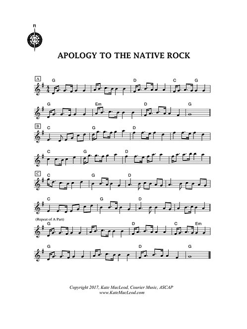 Apology to the Native Rock