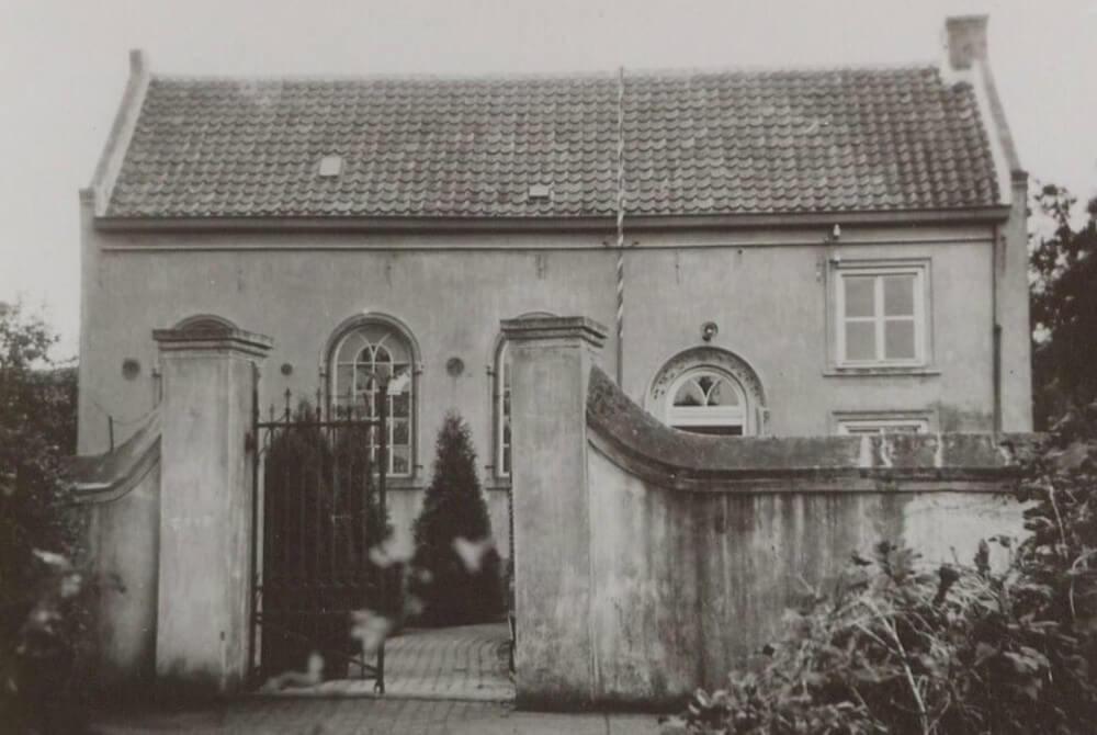 תמונת בית הכנסת שפעם עמד כאן