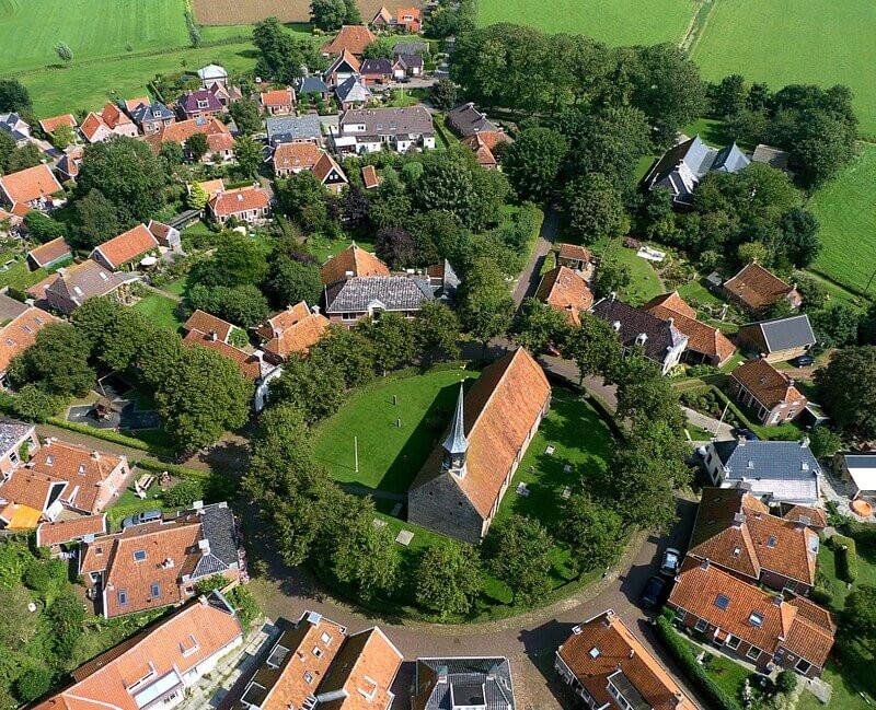 מראה עילי של הכפר