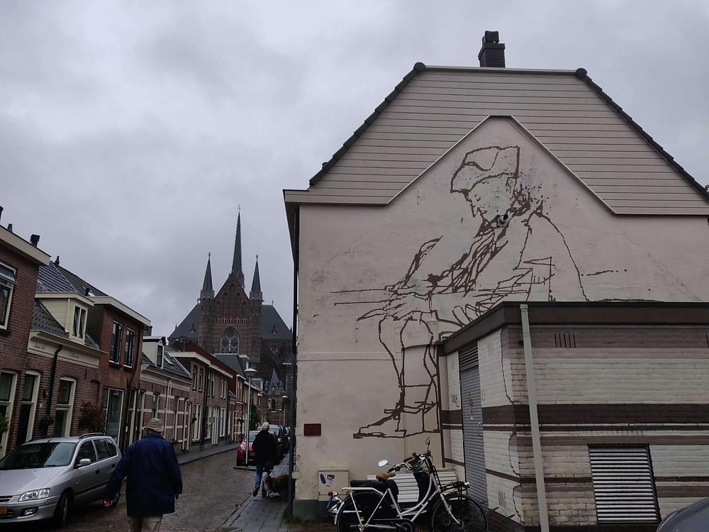 ציור קיר של הפדגוג סלה