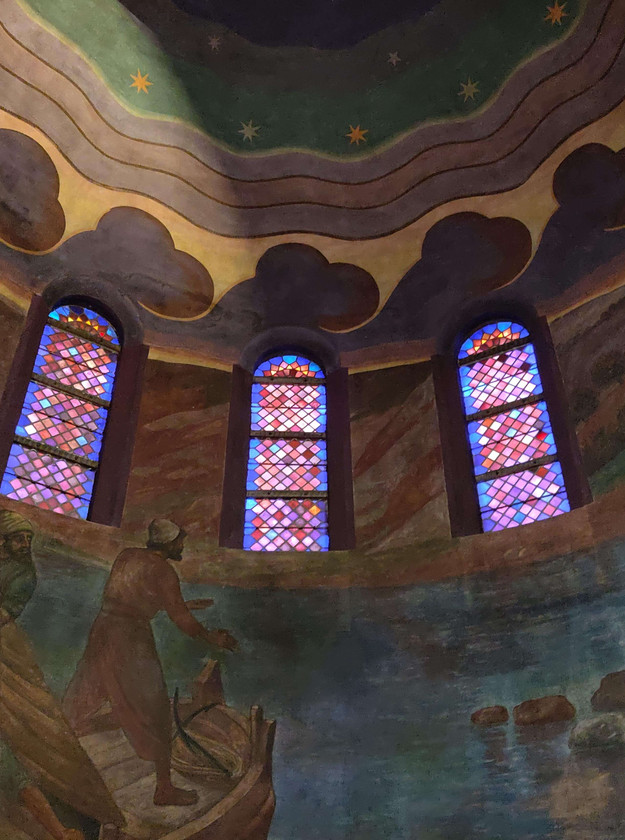 ויטראזים בכנסיית הר וגיא, ניימכן