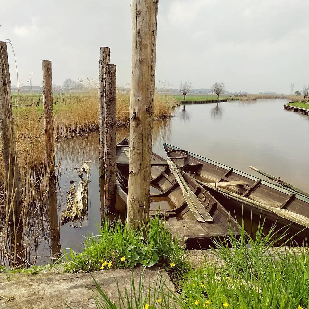 סירה בנחל