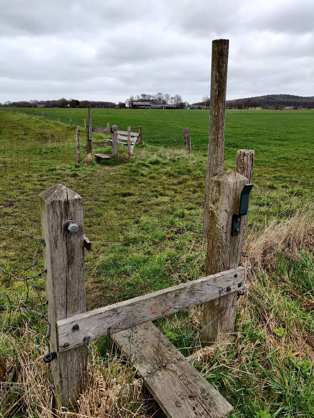 שער מעבר בין חלקות חקלאיות