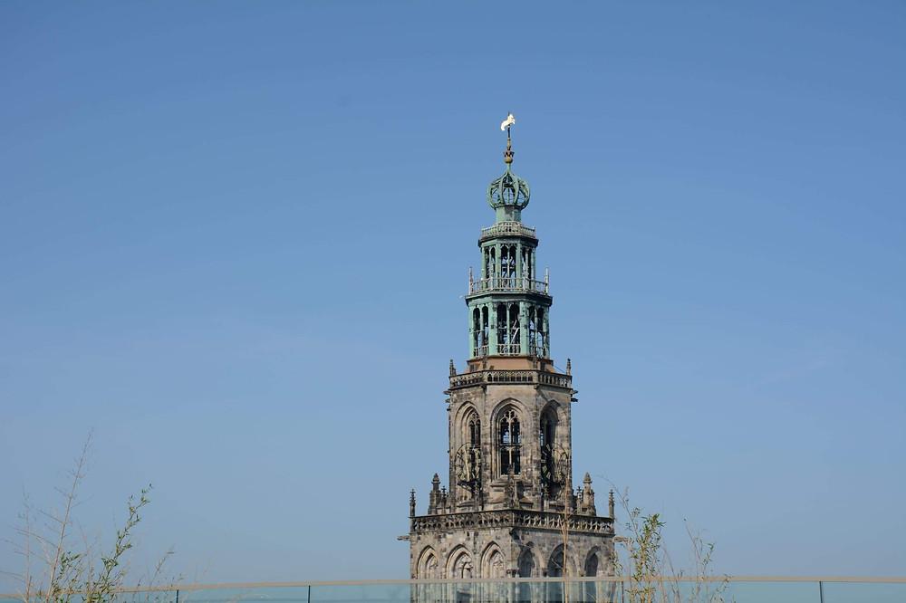 החלק העליון של מגדל מרטיני