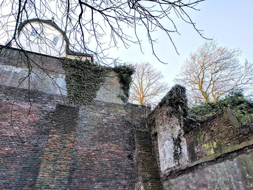 שרידי חומת העיר העתיקה