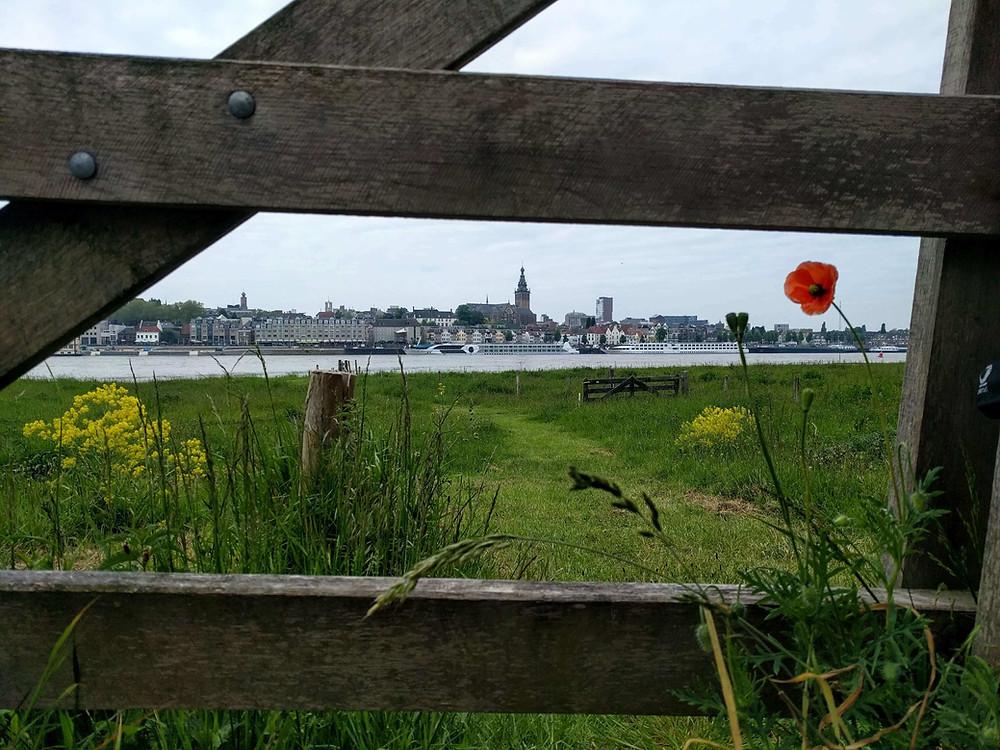 פני העיר ניימכן. מבט מעבר לנהר