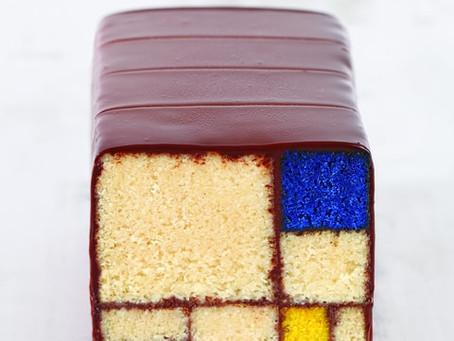 על מונדריאן, ריטפלד ואפיית עוגות