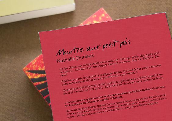 Meurtre aux petis pois - Nathalie Durieu